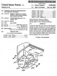 マイケル・ジャクソンの米国特許権