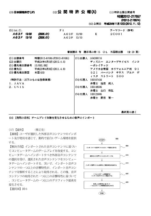 アプリの特許出願