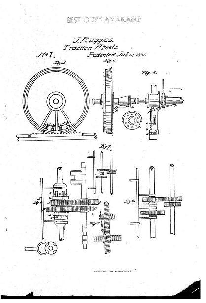 アメリカの特許第一号
