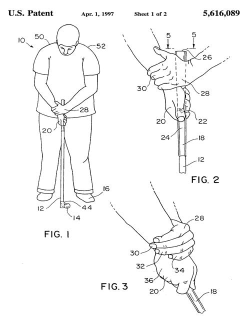 米国のパッティング特許
