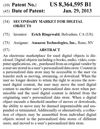 Amazonのビジネスモデル特許