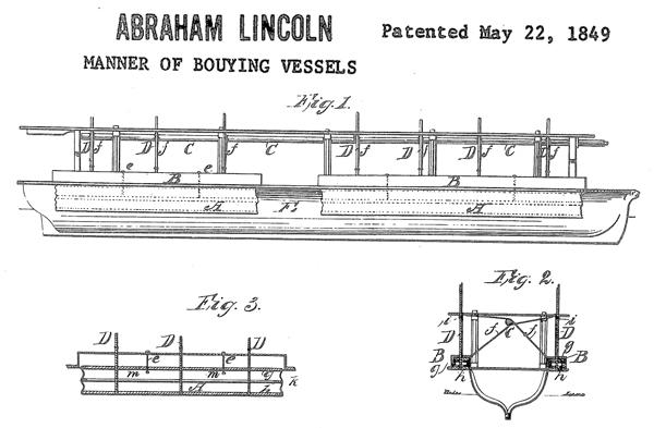 エイブラハム・リンカーンが取得した米国特許権