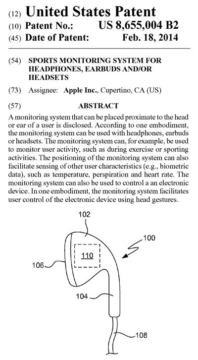 イヤホンを利用したアプリ特許