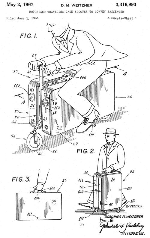 アメリカンコミック風の特許図面