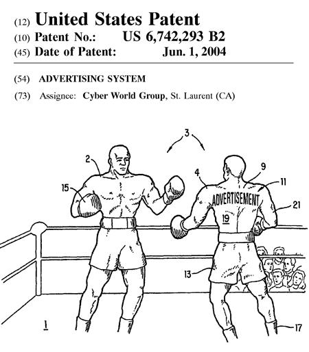 『広告方法』に関する米国特許
