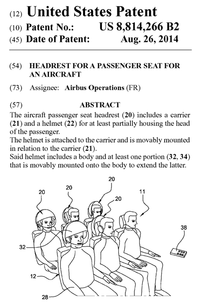 エアバスの米国特許権