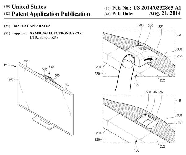 Samsungの米国特許出願