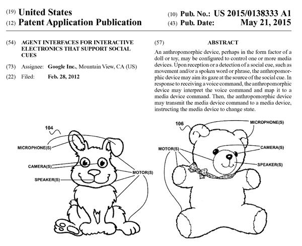 グーグルの米国特許出願