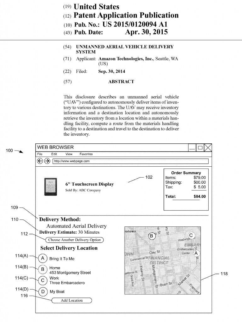Amazon.comが申請しているビジネスモデル特許