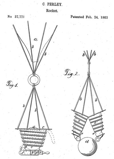 ドローンの特許第1号(米国特許)