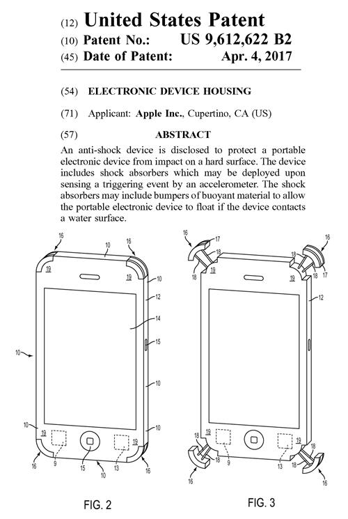 アップルが取得した米国特許権