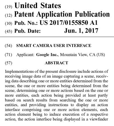 Googleの米国特許出願